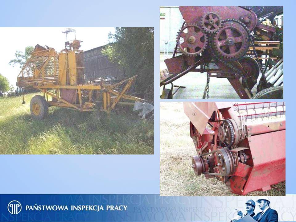 2. Obsługa kombajnów do zbioru zbóż, zielonek i okopowych, maszyn żniwnych, kosiarek rolniczych, pras do słomy i siana, kopaczek do zbioru okopowych.