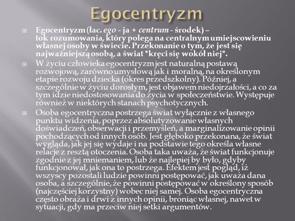 Egocentryzm