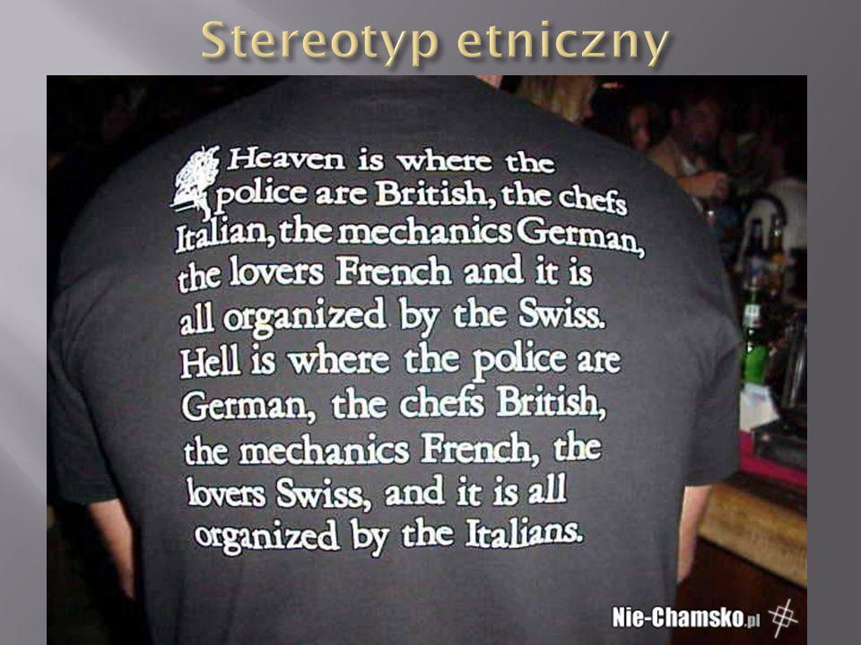 Stereotyp etniczny