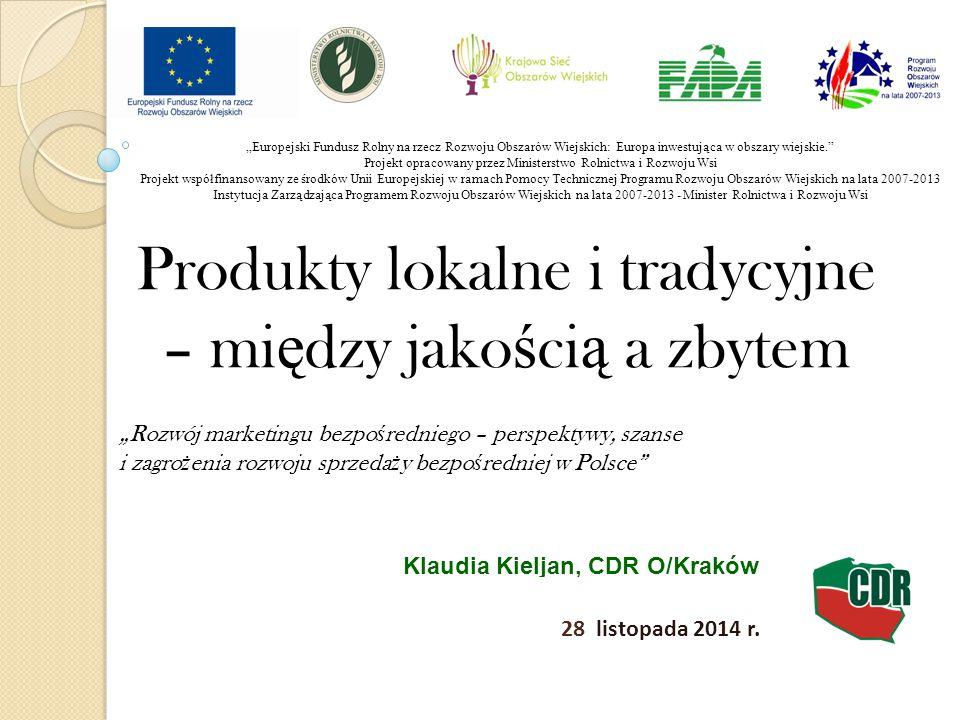 Klaudia Kieljan, CDR O/Kraków