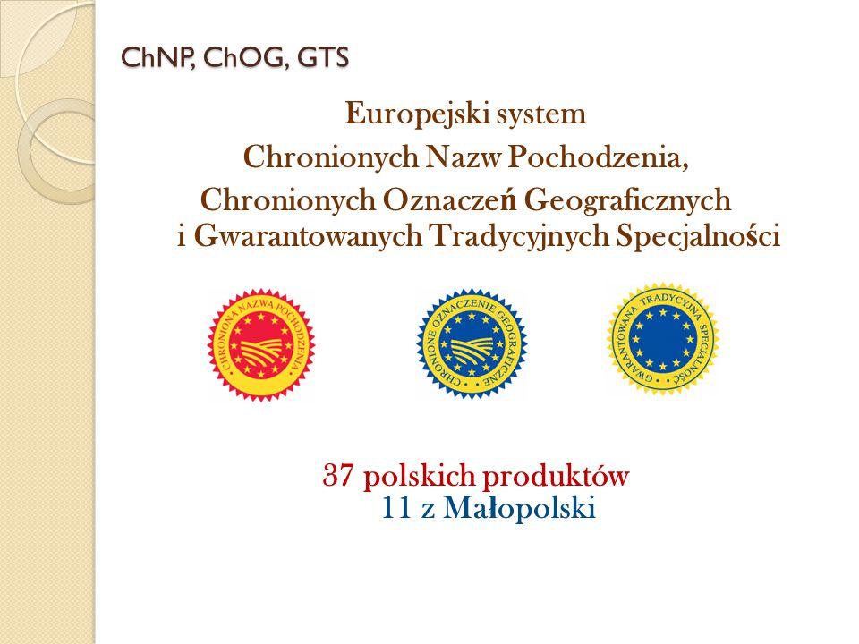 37 polskich produktów 11 z Małopolski