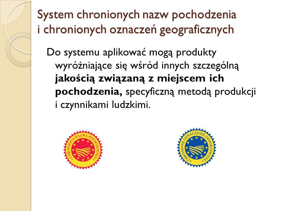 System chronionych nazw pochodzenia i chronionych oznaczeń geograficznych
