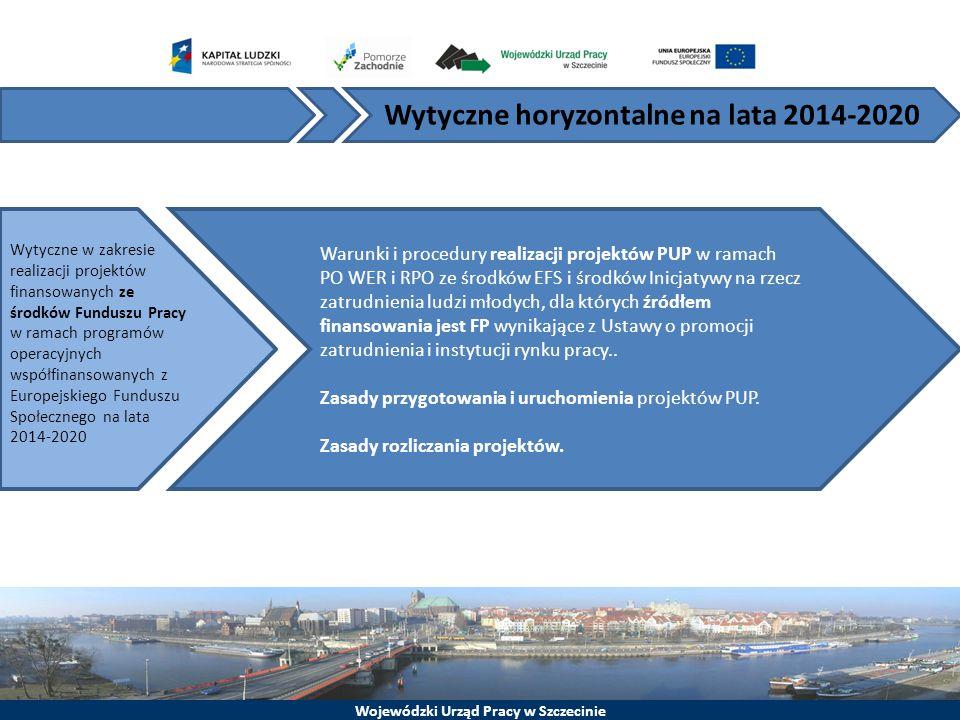 Wytyczne horyzontalne na lata 2014-2020