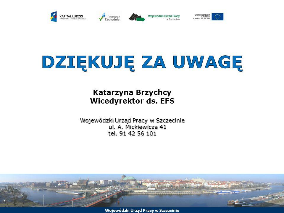 Wojewódzki Urząd Pracy w Szczecinie ul. A. Mickiewicza 41