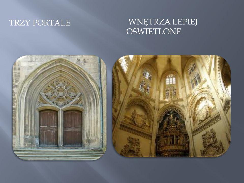 Trzy portale wnętrza Lepiej oświetlone