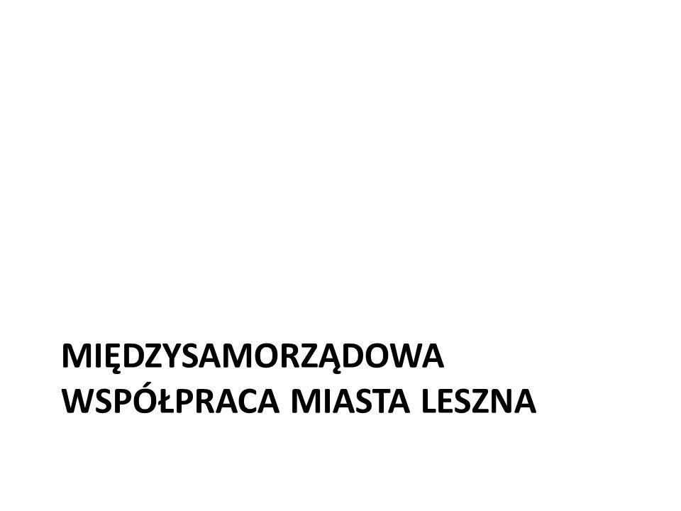 Międzysamorządowa współpraca miasta Leszna