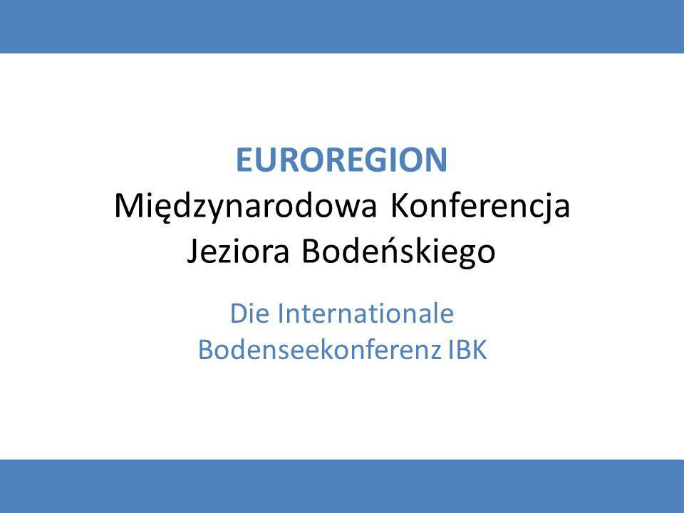 EUROREGION Międzynarodowa Konferencja Jeziora Bodeńskiego