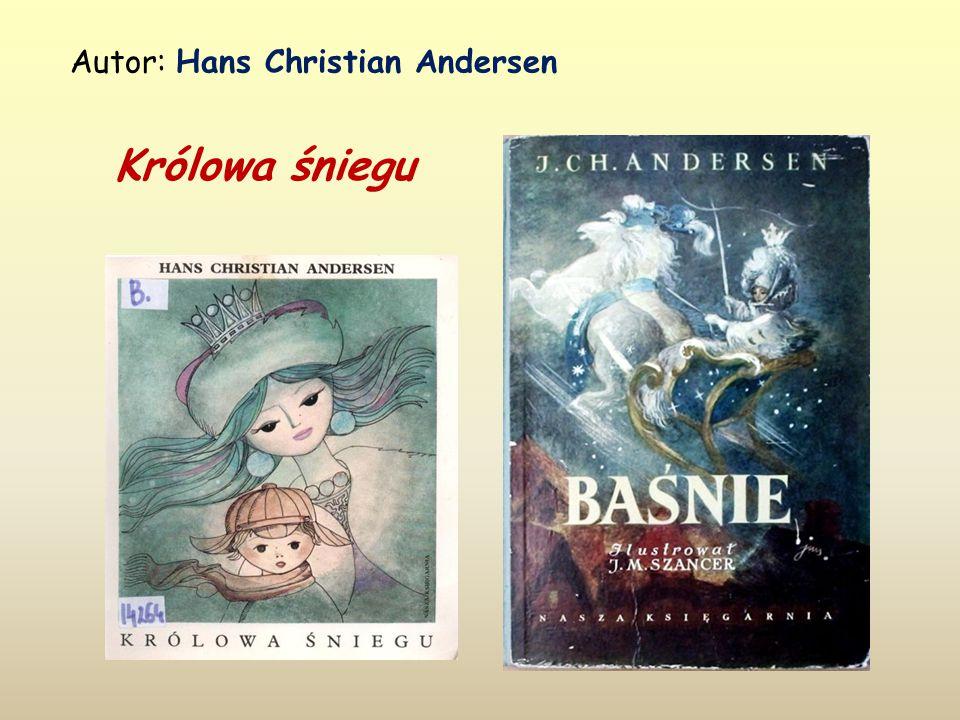 Autor: Hans Christian Andersen