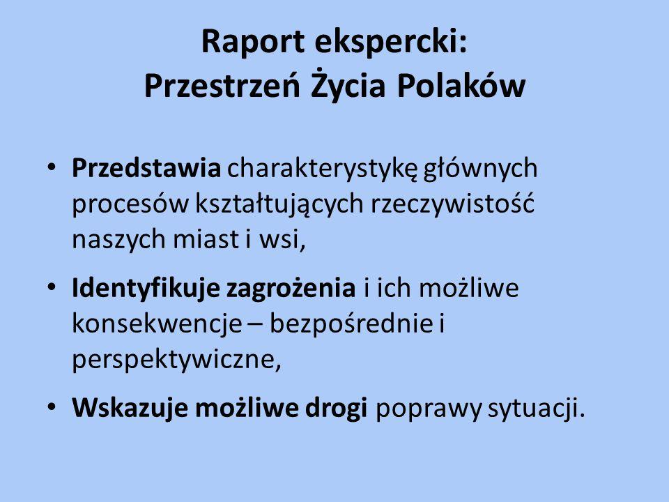 Raport ekspercki: Przestrzeń Życia Polaków