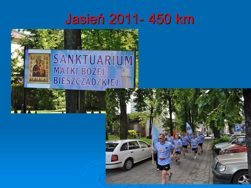 Jasień 2011- 450 km