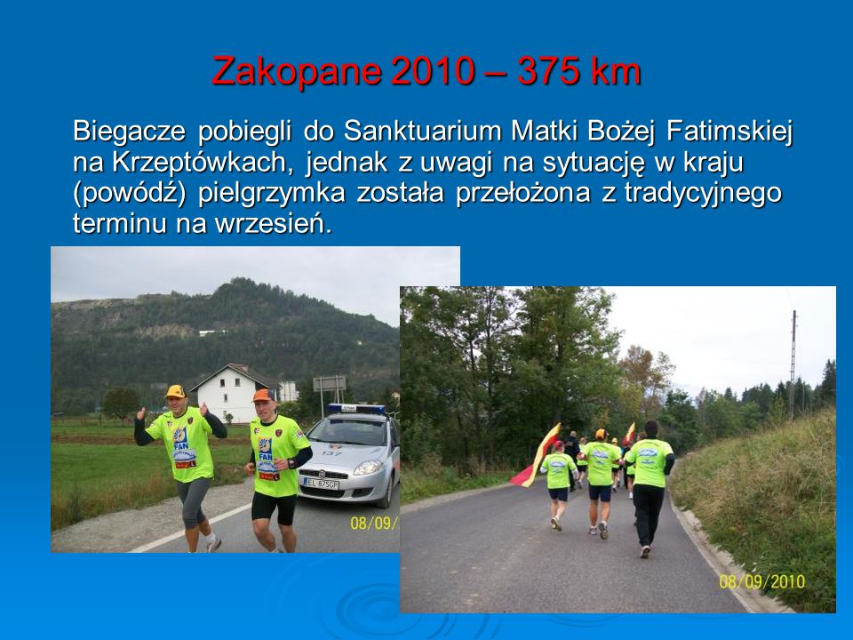 Zakopane 2010 – 375 km