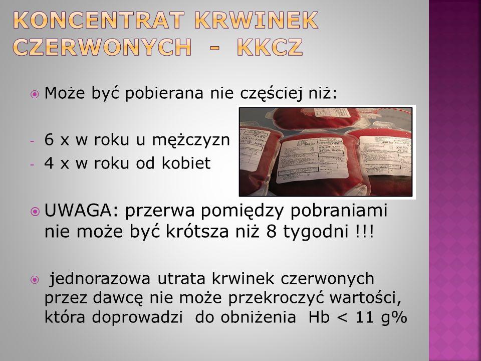 Koncentrat krwinek czerwonych - KkCZ