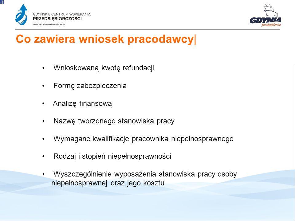 Oferta GCWP 3 Co zawiera wniosek pracodawcy|