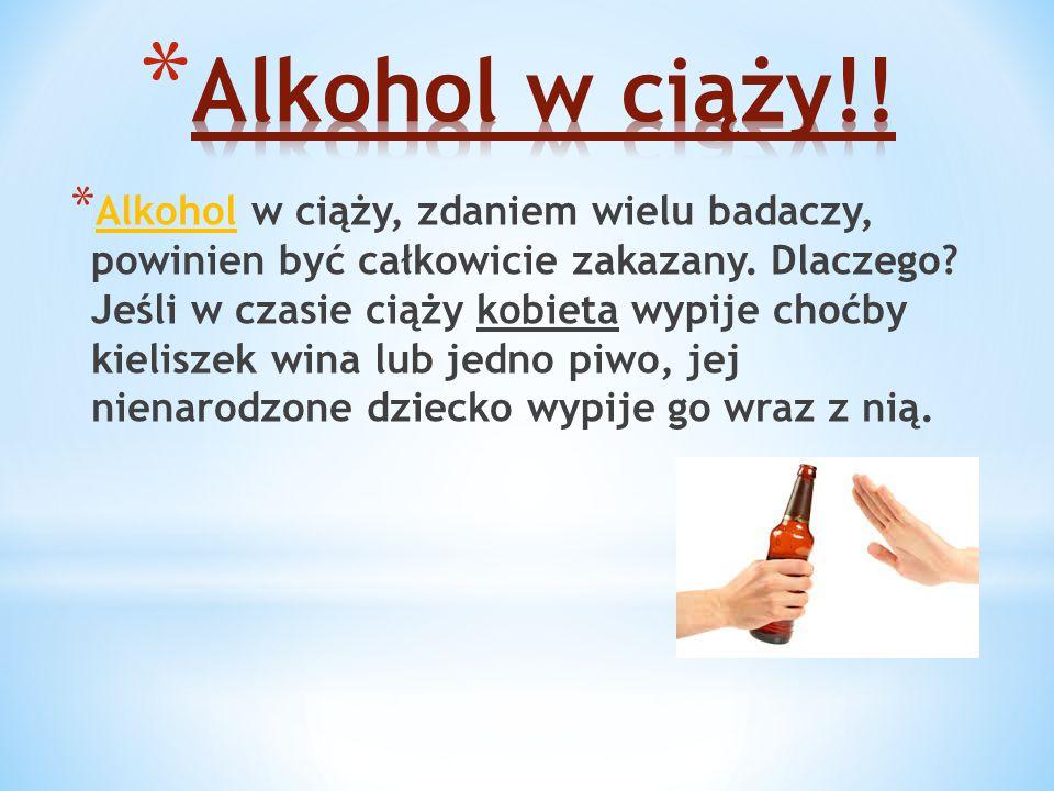 Alkohol w ciąży!!