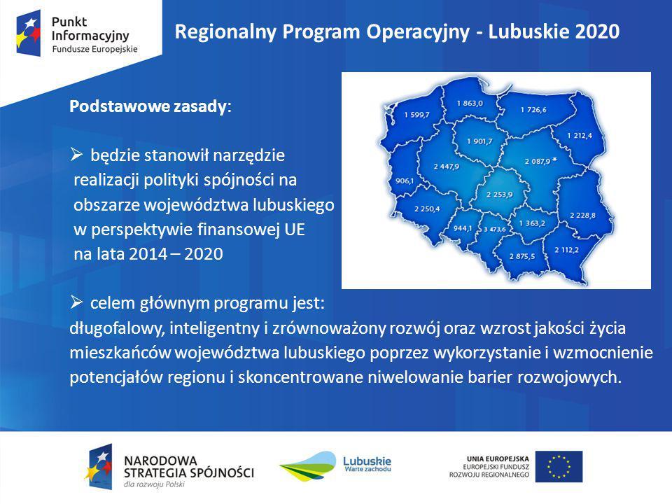 Regionalny Program Operacyjny - Lubuskie 2020
