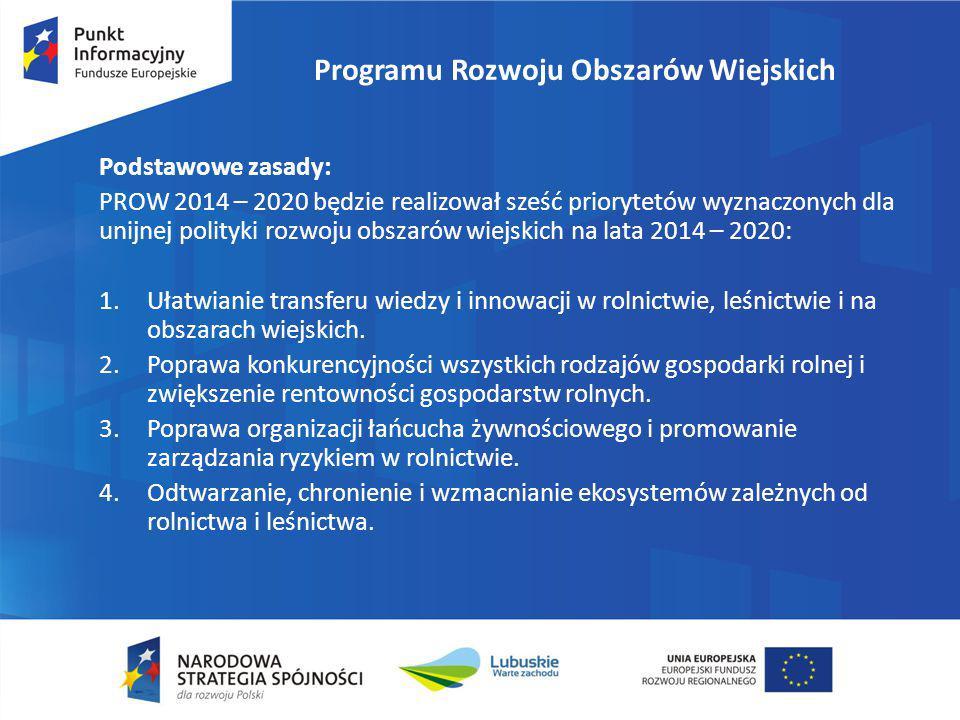 Programu Rozwoju Obszarów Wiejskich