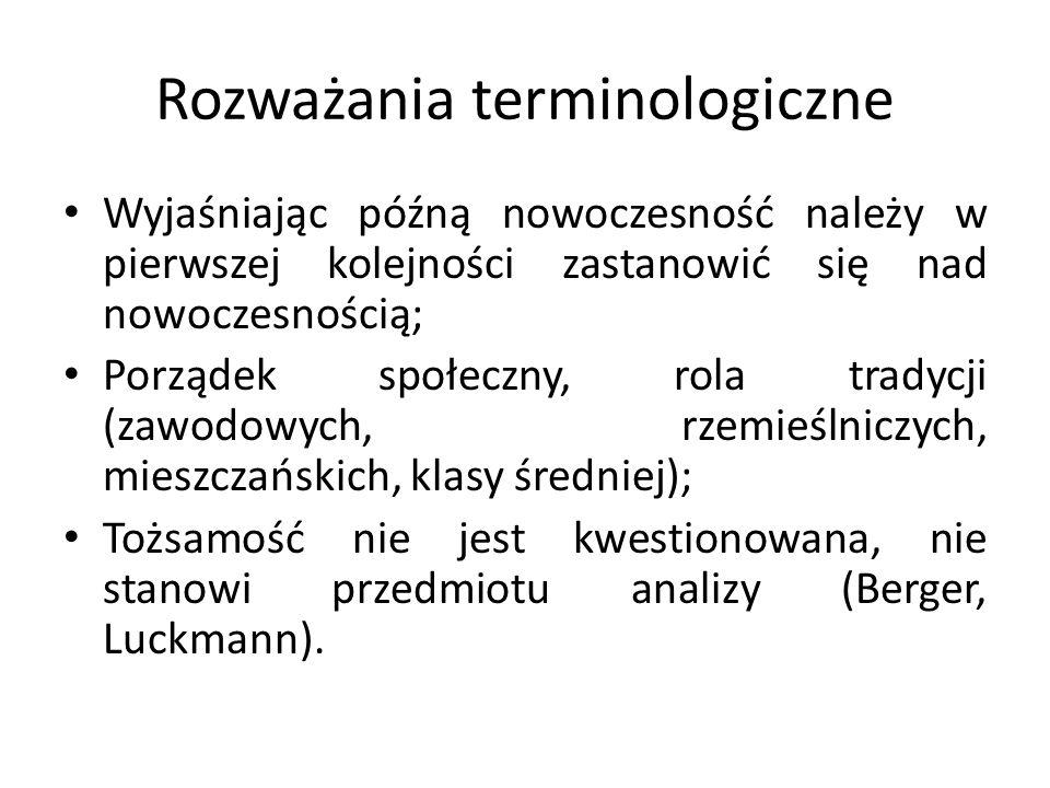 Rozważania terminologiczne