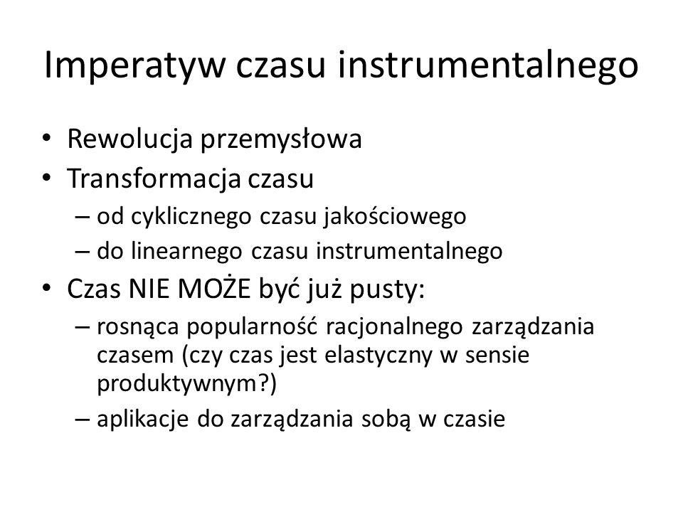 Imperatyw czasu instrumentalnego