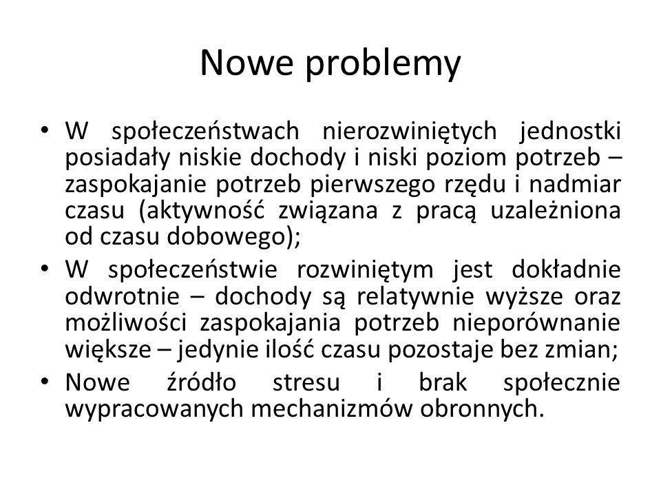 Nowe problemy