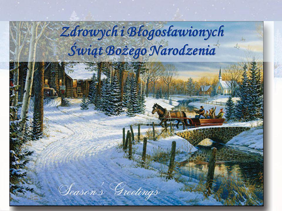 Zdrowych i Błogosławionych Świąt Bożego Narodzenia