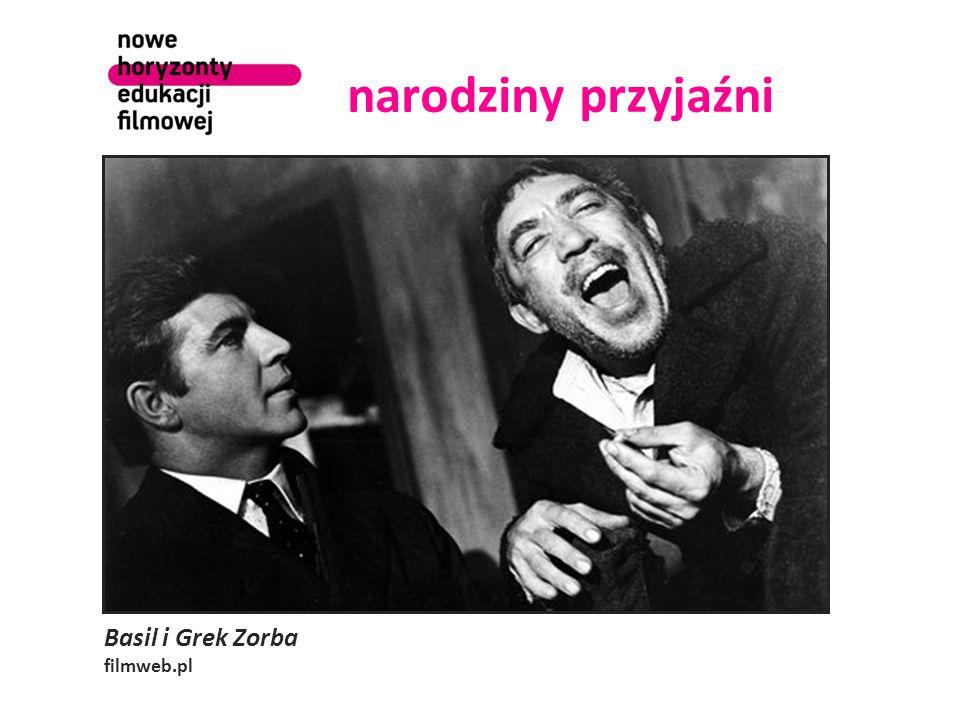 narodziny przyjaźni Basil i Grek Zorba filmweb.pl
