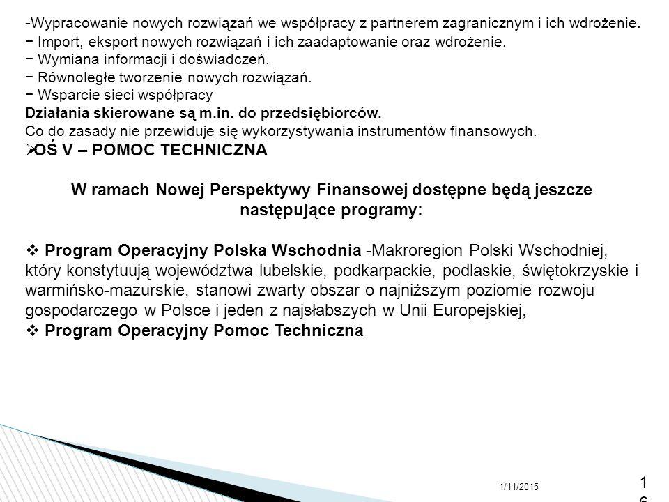 gospodarczego w Polsce i jeden z najsłabszych w Unii Europejskiej,