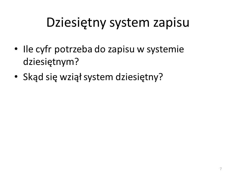 Dziesiętny system zapisu