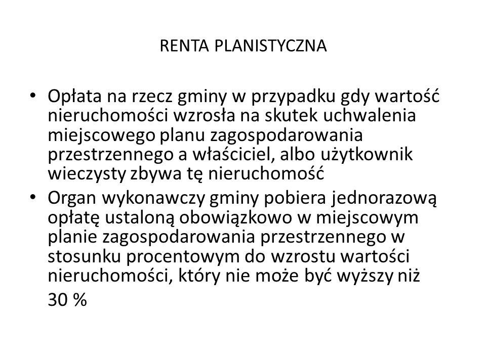 RENTA PLANISTYCZNA
