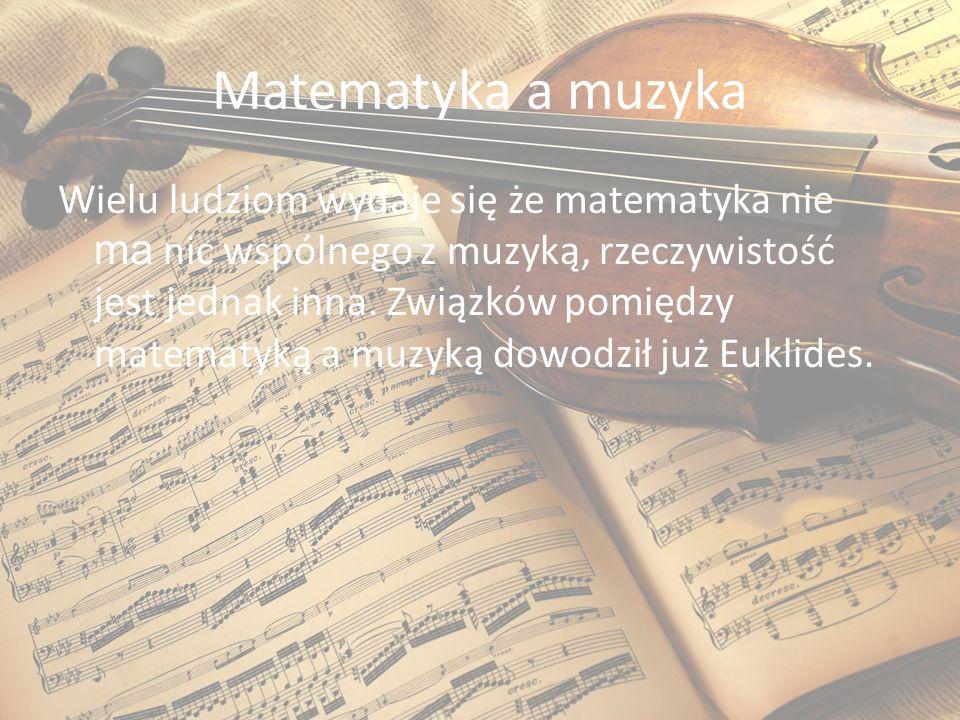 Matematyka a muzyka