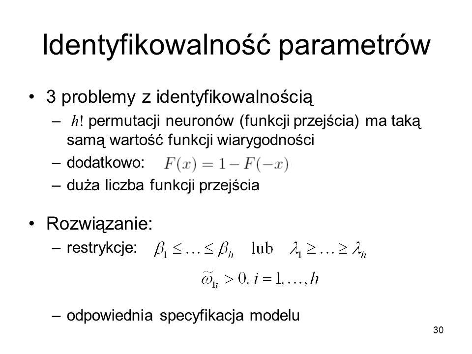 Identyfikowalność parametrów