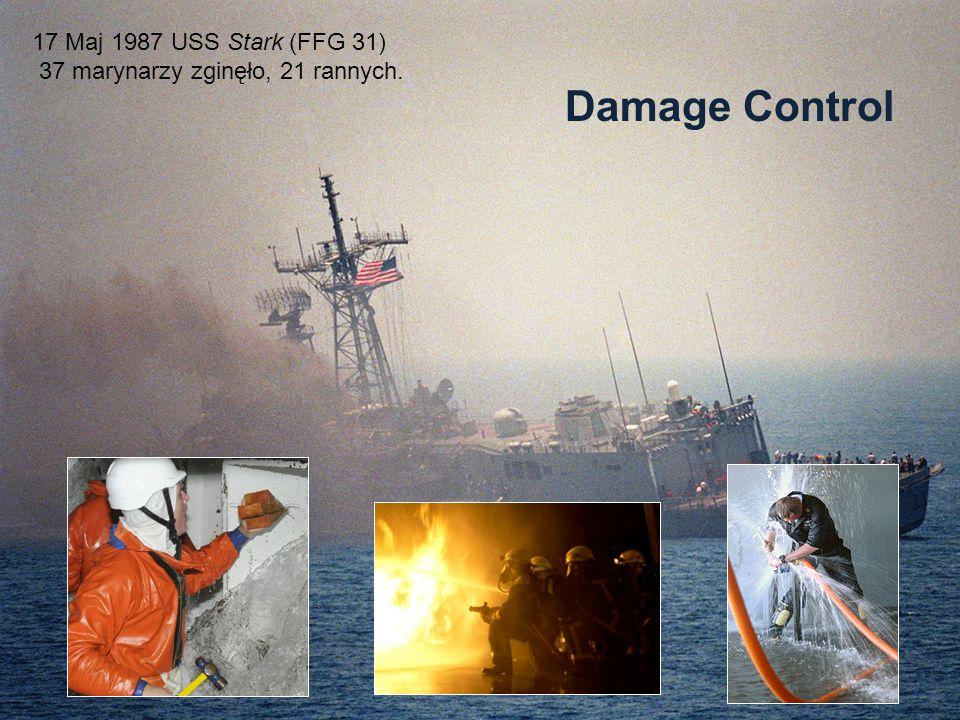 Damage Control 17 Maj 1987 USS Stark (FFG 31)