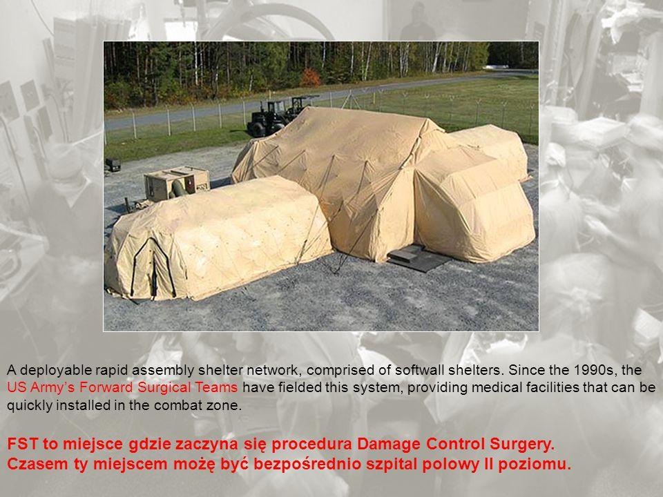 FST to miejsce gdzie zaczyna się procedura Damage Control Surgery.