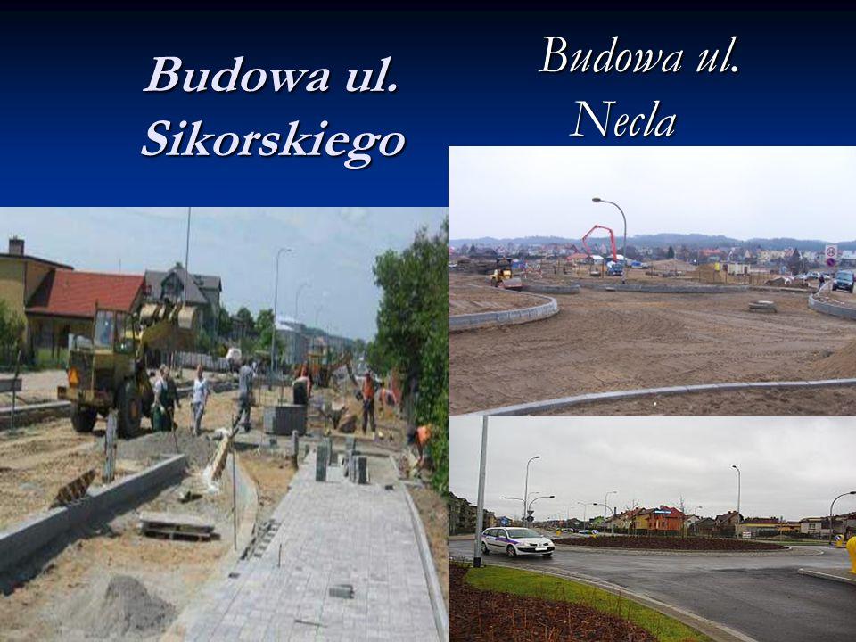Budowa ul. Necla Budowa ul. Sikorskiego