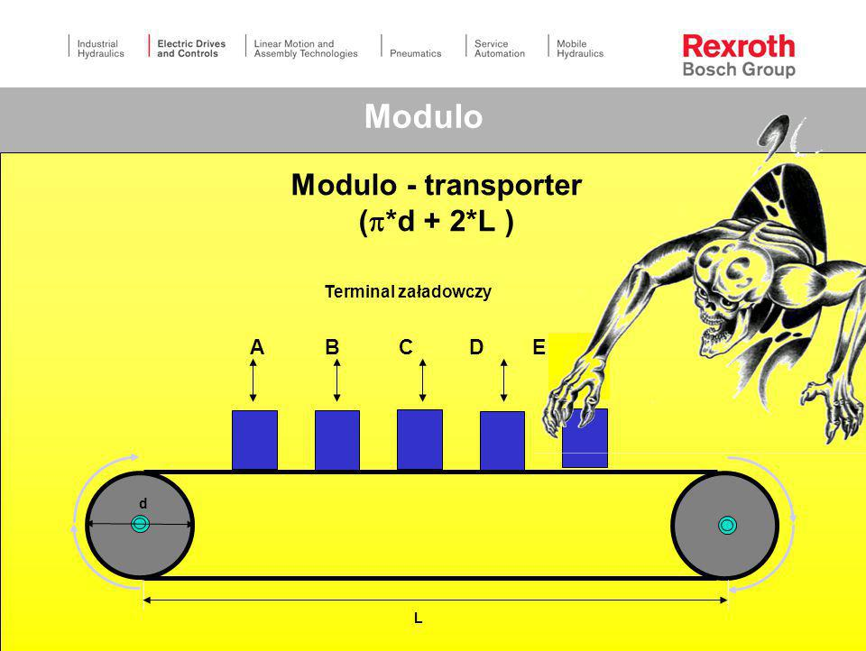 Modulo - transporter (*d + 2*L )