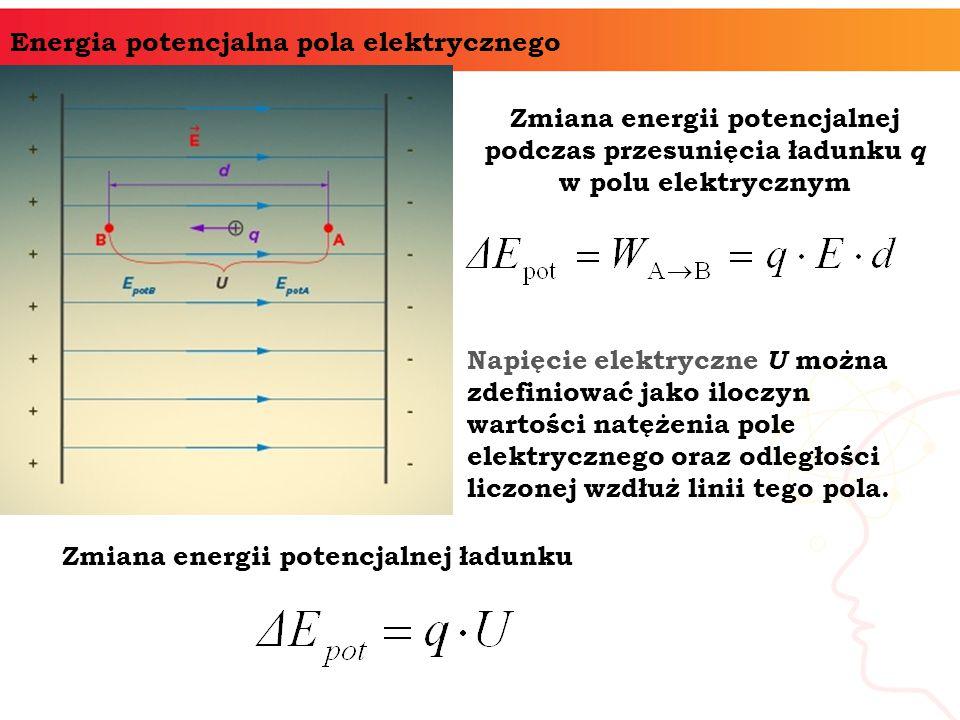 Energia potencjalna pola elektrycznego