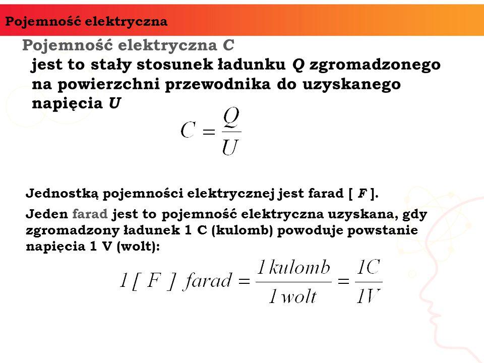 Pojemność elektryczna C