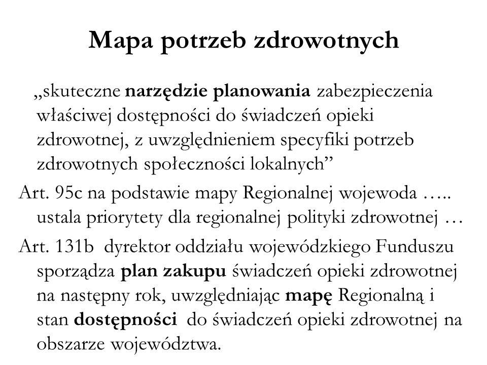 Mapa potrzeb zdrowotnych