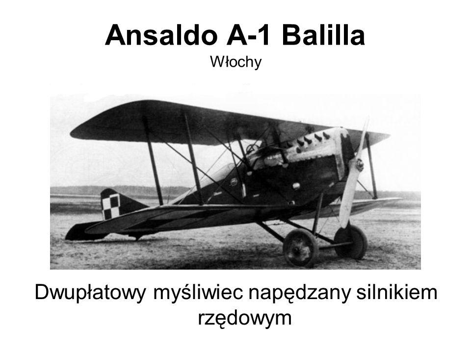 Ansaldo A-1 Balilla Włochy