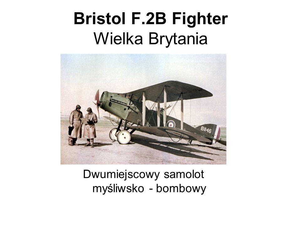 Bristol F.2B Fighter Wielka Brytania