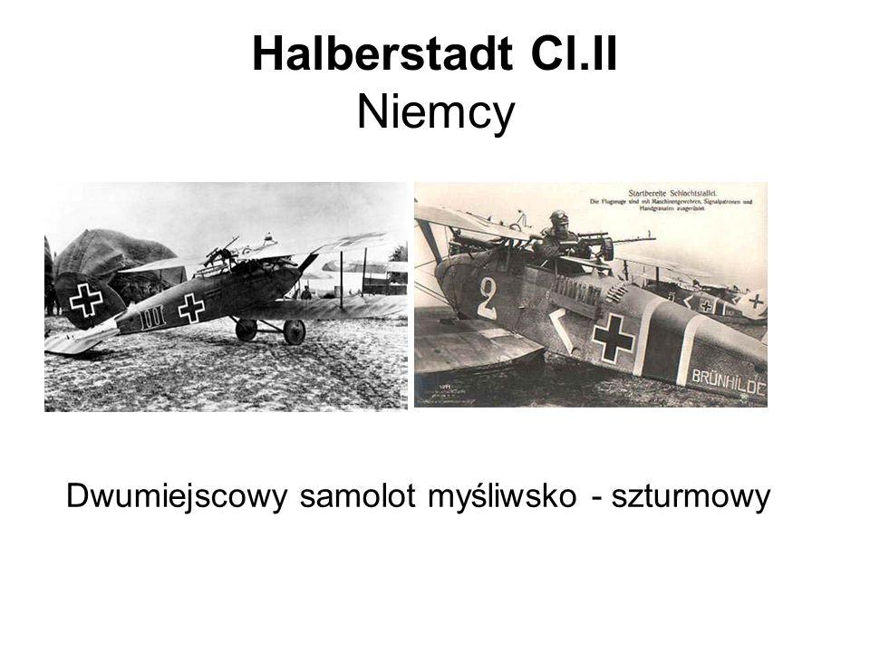 Halberstadt Cl.II Niemcy