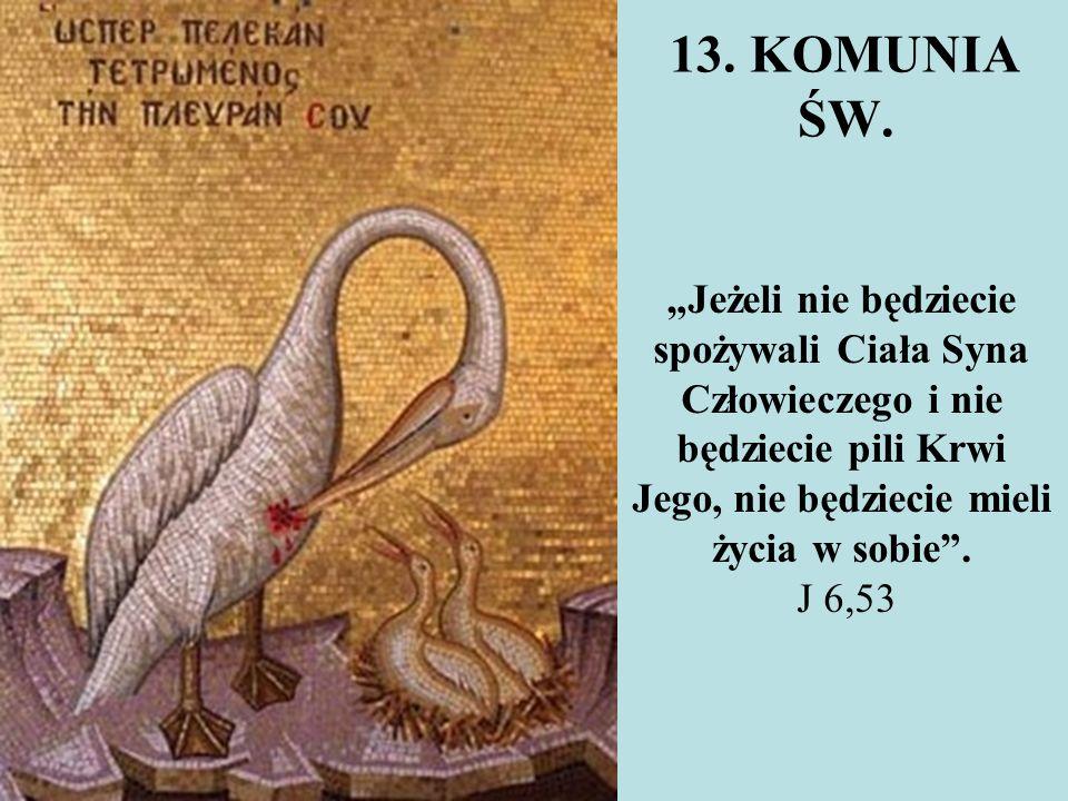 13. KOMUNIA ŚW.