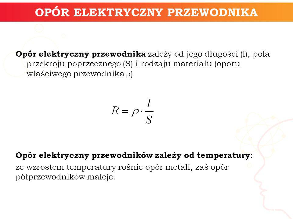 OPÓR ELEKTRYCZNY PRZEWODNIKA