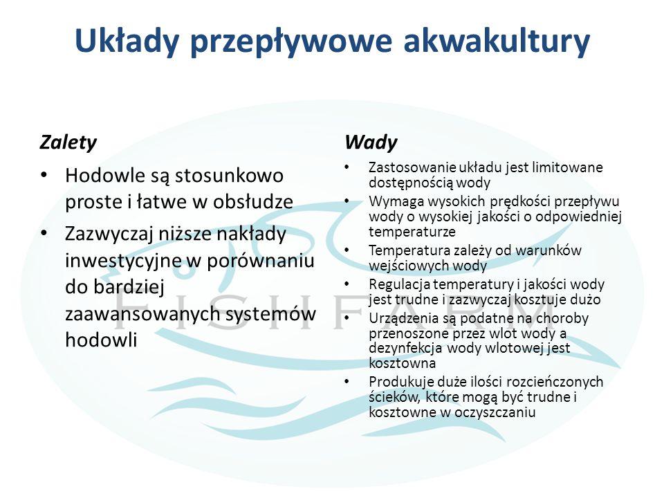 Układy przepływowe akwakultury