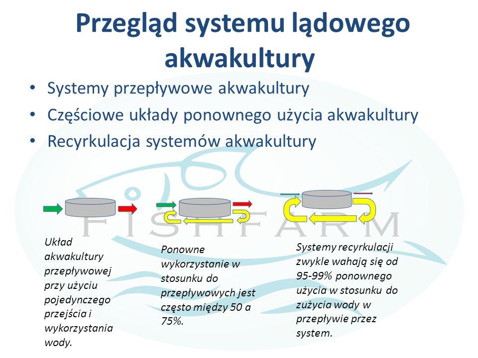 Przegląd systemu lądowego akwakultury