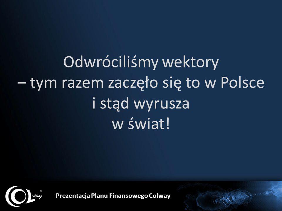 Odwróciliśmy wektory – tym razem zaczęło się to w Polsce i stąd wyrusza w świat!