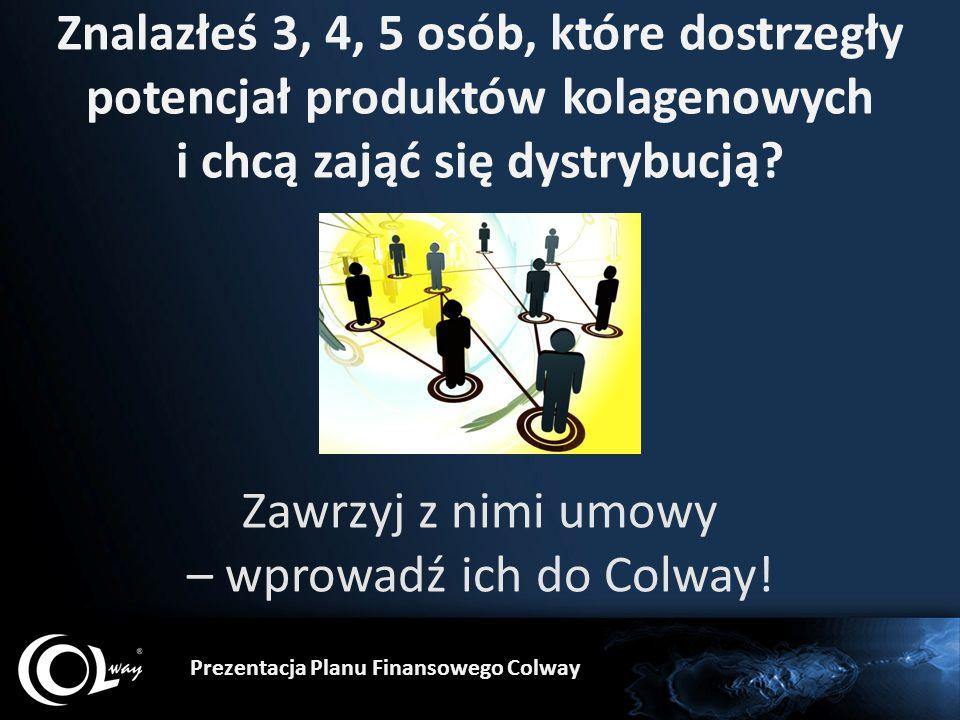 Zawrzyj z nimi umowy – wprowadź ich do Colway!