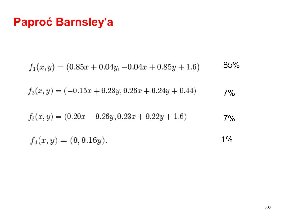 Paproć Barnsley a 85% 7% 7% 1%