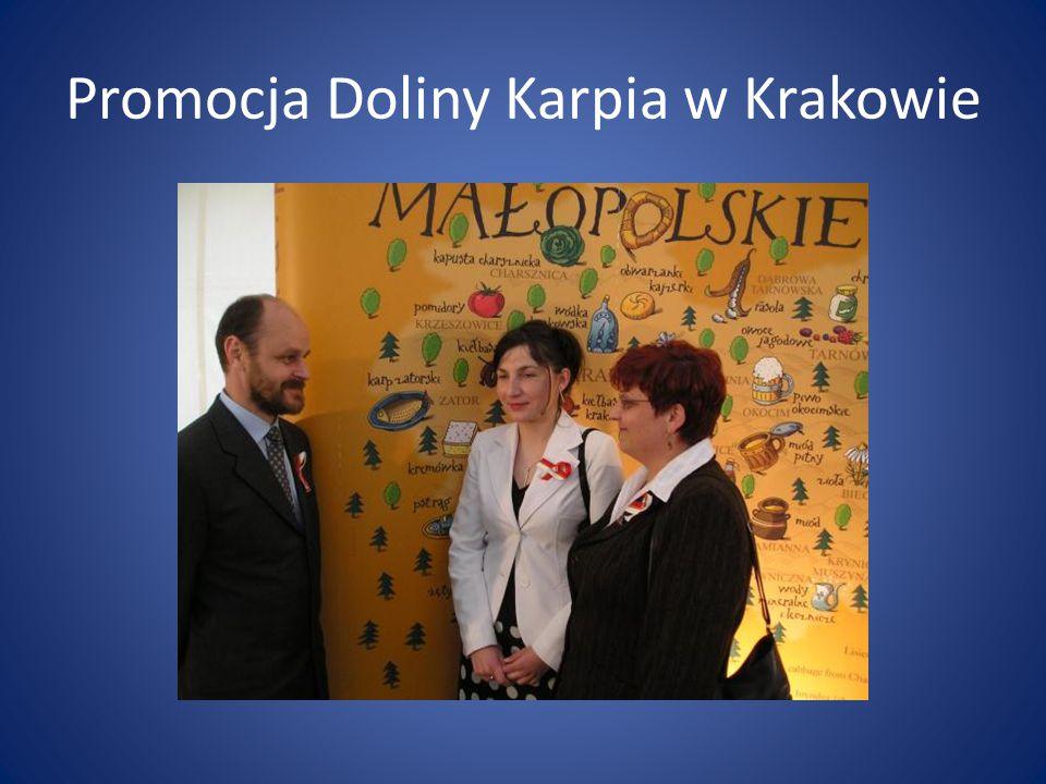 Promocja Doliny Karpia w Krakowie