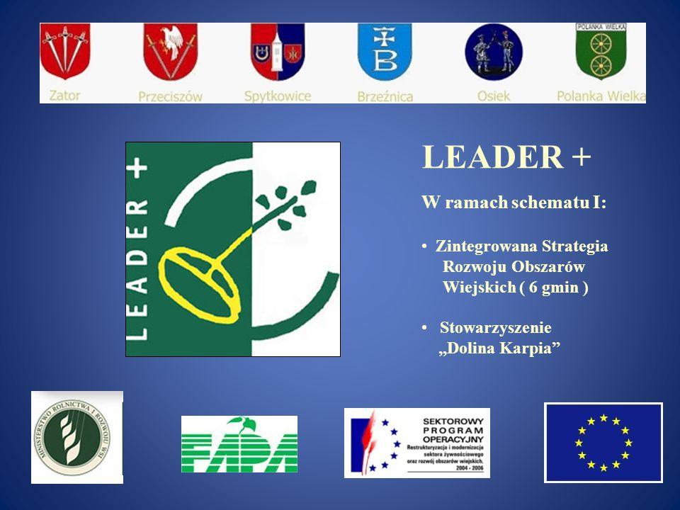 LEADER + W ramach schematu I: Zintegrowana Strategia Rozwoju Obszarów