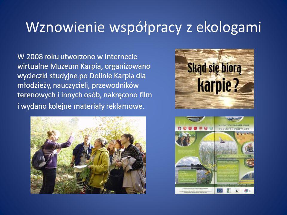 Wznowienie współpracy z ekologami